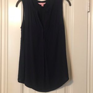 Lilly Pulitzer linen tank top